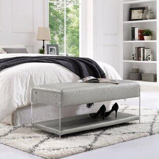 Orren Ellis Serena Upholstered Storage Bench