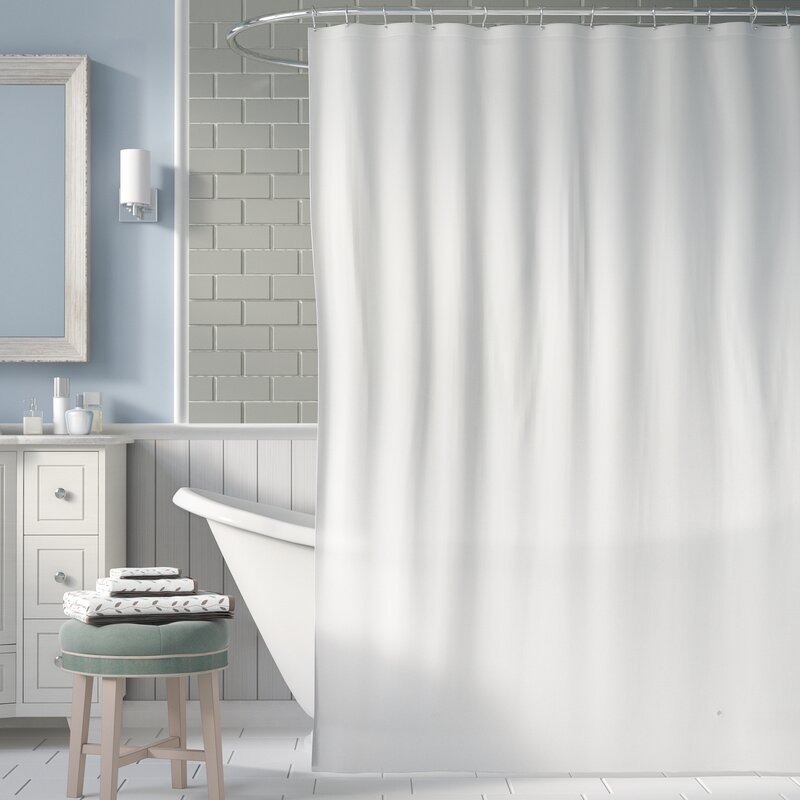 Symple Stuff 5 Gauge Shower Curtain Liner & Reviews | Wayfair