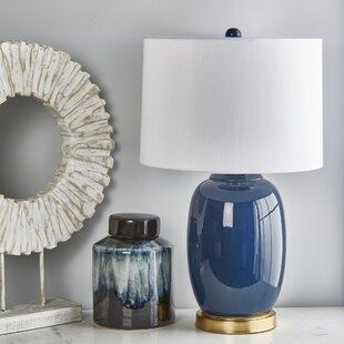 Tierra Ceramic Oriental 26 Table Lamp