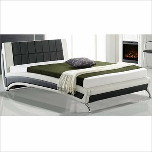 Malaptias Upholstered Bed Frame By Wade Logan