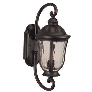 Charlton Home Oakhill 2-Light Outdoor Wall Lantern