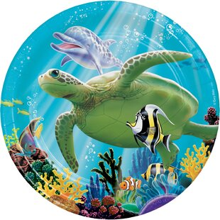 Ocean Party Appetizer Plate (Set of 24)
