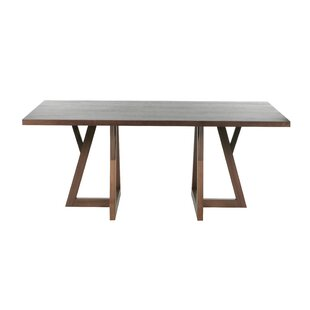Forest Solid Wood Dining Table by Indo Puri