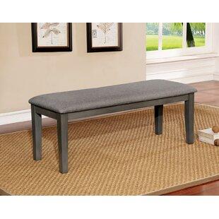 Gracie Oaks Rasberry Upholstered Bench
