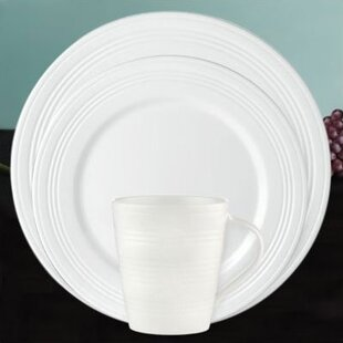 Tin Can Alley Seven Degree 4 Piece Place Setting, Service for 1