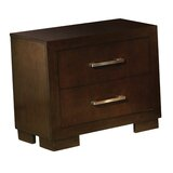 Suncica 2 Drawer Nightstand by Ebern Designs
