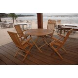 Farnam 5 Piece Teak Dining Set