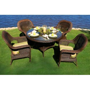 Darby Home Co Fleischmann 5 Piece Dining Set
