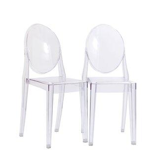 Mercer41 Oakdene Upholstered Dining Chair (Set of 2)