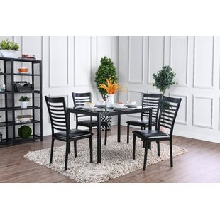 Bhamidipati 5 Piece Dining Set by Ebern Designs