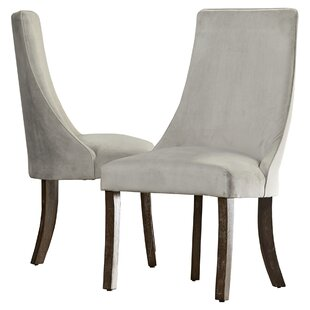 Barrington Parsons Chair (Set of 2) Three Posts