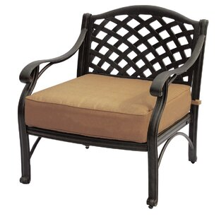 Velez Patio Chair with Sunbrella Cushions (Set of 2)