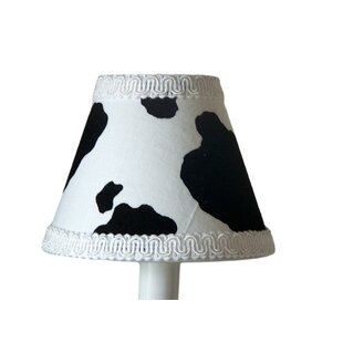 Cowhide 11 Fabric Empire Lamp Shade