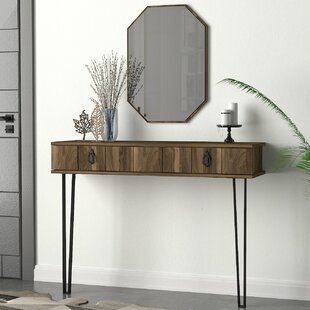 Tylor Console Table And Mirror Set By Union Rustic