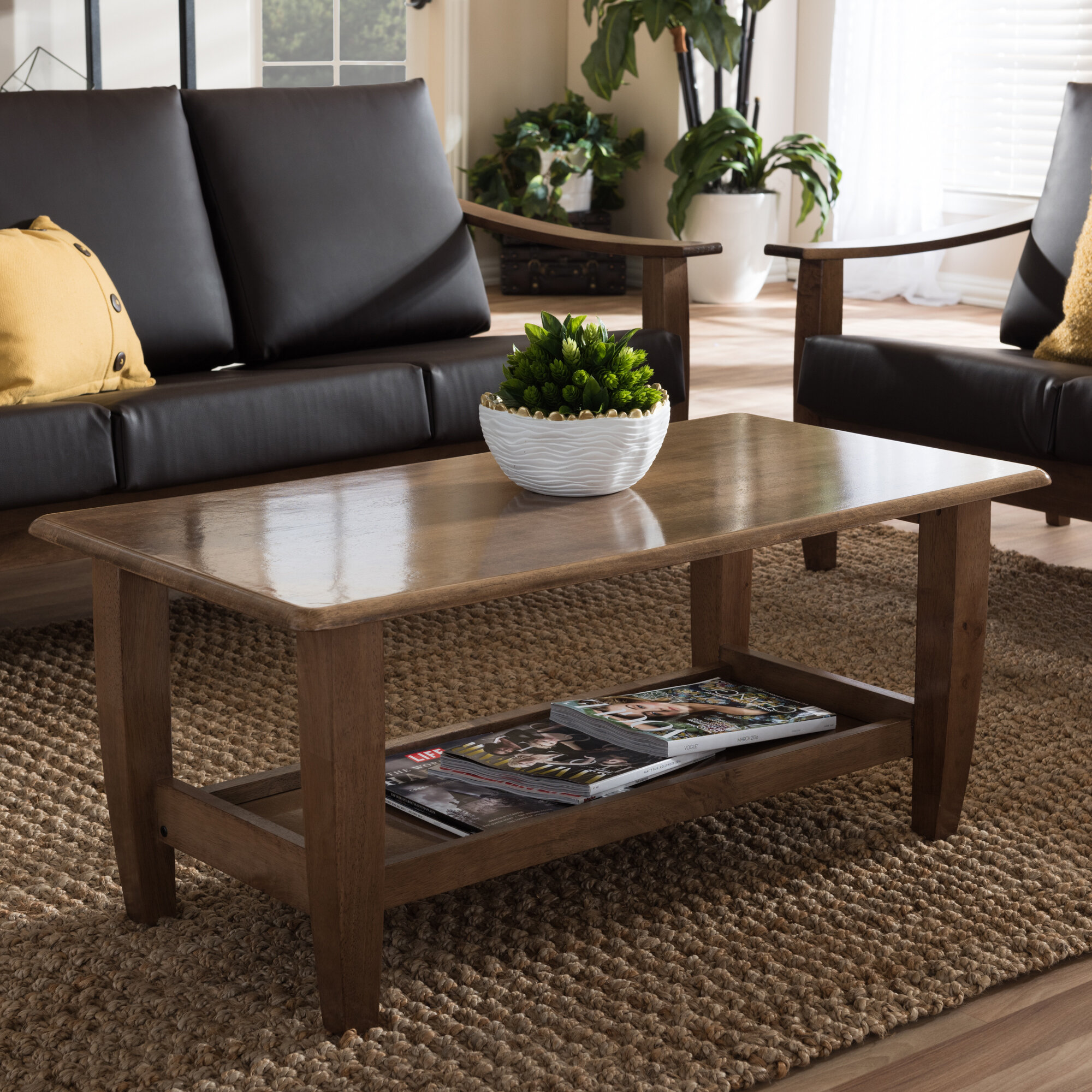 Wholesale Interiors Baxton Studio Coffee Table Reviews Wayfair