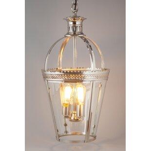 Chesterfield 3-Light Lantern Pendant by Fashion N You Horizon Interseas