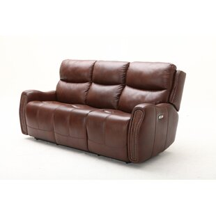 Ellington Leather Reclining Sofa by Southern Motion