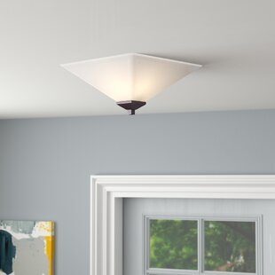 Ebern Designs Bendigo 2-Light Flush Mount