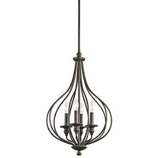 Kichler Kensington 4-Light Foyer Pendant