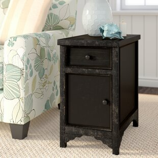 Calvin End Table With Storage by Beachcrest Home