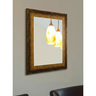 Affordable Rectangle Tarnished Bronze Wall Mirror By 17 Stories