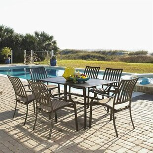 Panama Jack Outdoor Island Breeze 7 Piece Dining Set