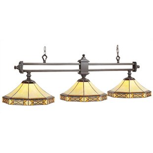 Millwood Pines Shemar 3-Light Billiards Light