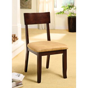 Clayton Upholstered Dining Chair (Set of 2) Alcott Hill