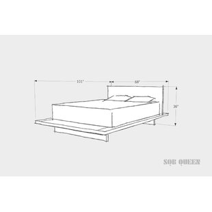 SQB Platform Bed By ARTLESS