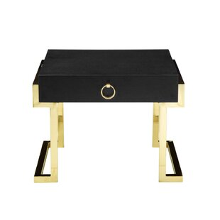 Mercer41 Constantino End Table with Storage