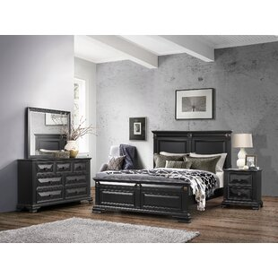 Shaniya Panel Bed
