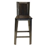 Norcross Wooden Back 28 Bar Stool by 17 Stories