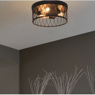 Best Reviews Clemence 3-Light Flush Mount By Williston Forge
