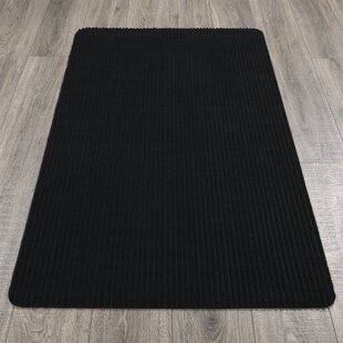 Winebarger Ribbed Gray Indoor/Outdoor Area Rug