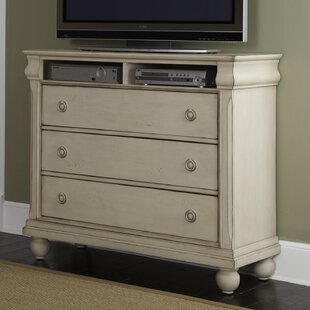 Warlick 3 Drawer Media Chest by Charlton Home Spacial Price
