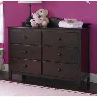 Riley RTA 6 Drawer Double Dresser