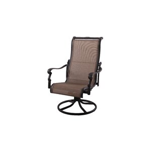 Bagwell Swivel Patio Dining Chair by Darby Home Co Herry Up
