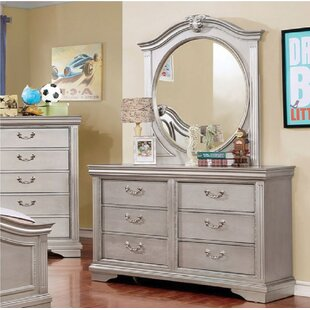 Reviews Hillsboro 5 Drawer Dresser with Mirror by Harriet Bee Reviews (2019) & Buyer's Guide