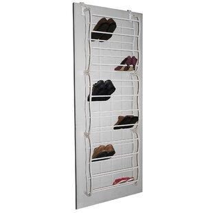 Find 12-Tier 36 Pair Overdoor Shoe Organizer By Rebrilliant