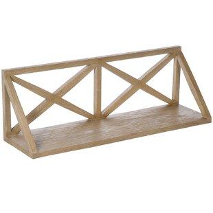 Oak Pipe Shelf | Wayfair co uk
