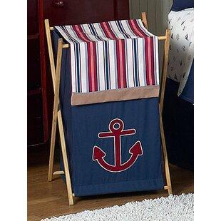 Reviews Nautical Nights Laundry Hamper BySweet Jojo Designs