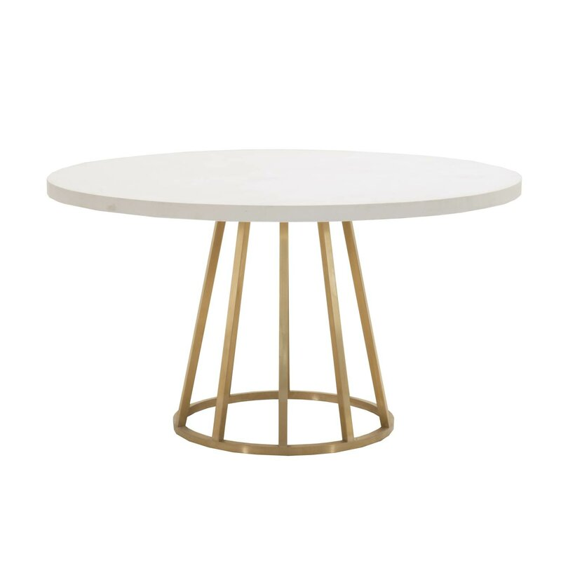 "Alberty 54"" Round Dining Table"