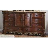 Heer 8 Drawer Combo Dresser by Fleur De Lis Living