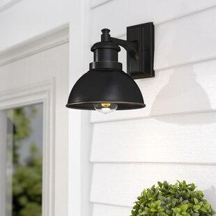 Gracie Oaks Elisha LED Outdoor Barn Light