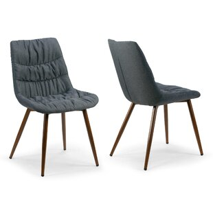 Wrought Studio Agustina Upholstered Dining Chair (Set of 2)