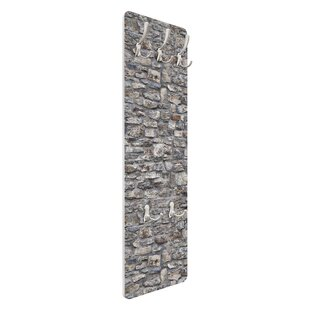 Natural Antique Stone Wall Mounted Coat Rack By Symple Stuff