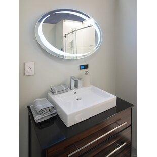 Oval LED Vanity Mirror