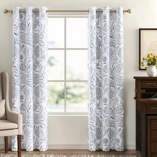 Smoke Blue Curtains Wayfair