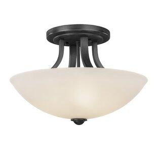 Dolan Designs Fireside 3-Light Semi Flush Mount