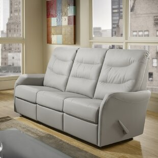 Avery Leather Reclining Sofa By Relaxon